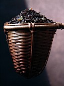 A strainer of jasmine tea