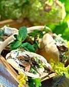 Lamb Pitta breads
