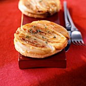 Endive and goat's cheese tatin tart