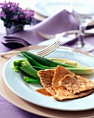Veal escalope