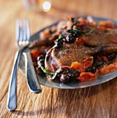 Southern fricassee duck