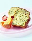 Herb savoury cake