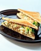 Tuna toasted sandwich