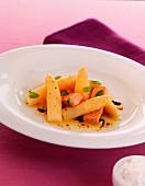 Asparagus and foie gras vinegar of modena