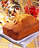 Fruit cake loaf