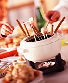 Setting for Savoie fondue