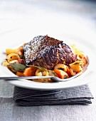 American-style braised beef