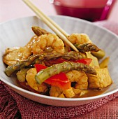 Chicken and prawn Chop Suey