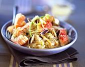 Mini seafood Sauerkraut with Muscadet
