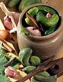Pickling gherkins