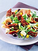 Sun-dried tomato salad