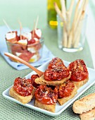 Preserved tomato Bruschetta