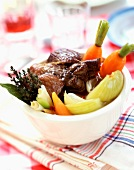 Pot-au-feu beef and vegetable stew