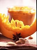 Stewed spiced pumpkin