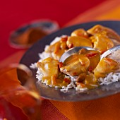 Madras chicken curry royal