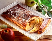 Pithiviers flaky pastry and almond cake