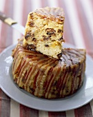 Farcement de Robby (Pikanter Kuchen aus Kartoffeln, Dörrobst und Speck, Savoyen)