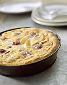 Fruit batter pudding (topic: country cooking)