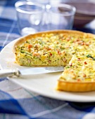 Cabbage and cumin tart