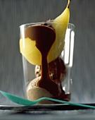 Belle-Hélène pear dessert