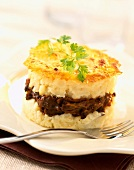Oxtail sheperd's pie