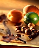 Fresh fruit, dried fruit and liquorice