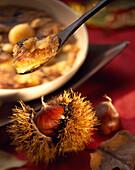 Apple and chestnut cream