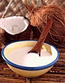Coconut milk and coconut