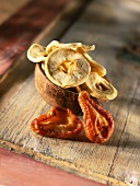 dried apple and pear (topic: dried fruits)