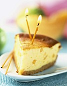 Melon cheesecake