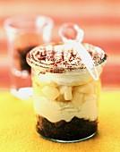 Pear and chocolate tiramisu