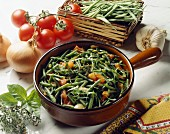 Green beans à la niçoise