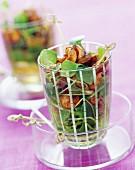 Crunchy whelks in Balsamic vinegar