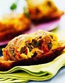 spanish omelette sandwich