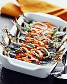Sage roasted sardines