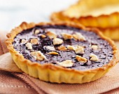 Chocolate and Touron tart