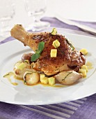 Curried chicken with potatoes and onions