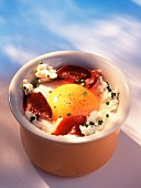 Country coddled egg