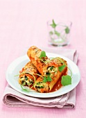 Vegetarian cannelloni