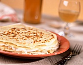 Pancakes and cider