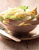 Celery salad with parmesan