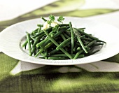 French beans (topic: light delights)