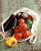 Summer vegetables (topic: picnics)