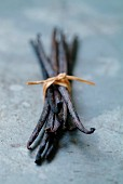 Bundle of vanilla pods
