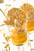 Scallops with mango