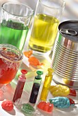 Cooking additives and food colourings