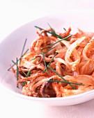 Tomato squid