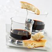 Christmas aperitif wine