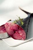 Red tuna (topic: Provence)