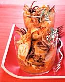Squid in tomato sauce